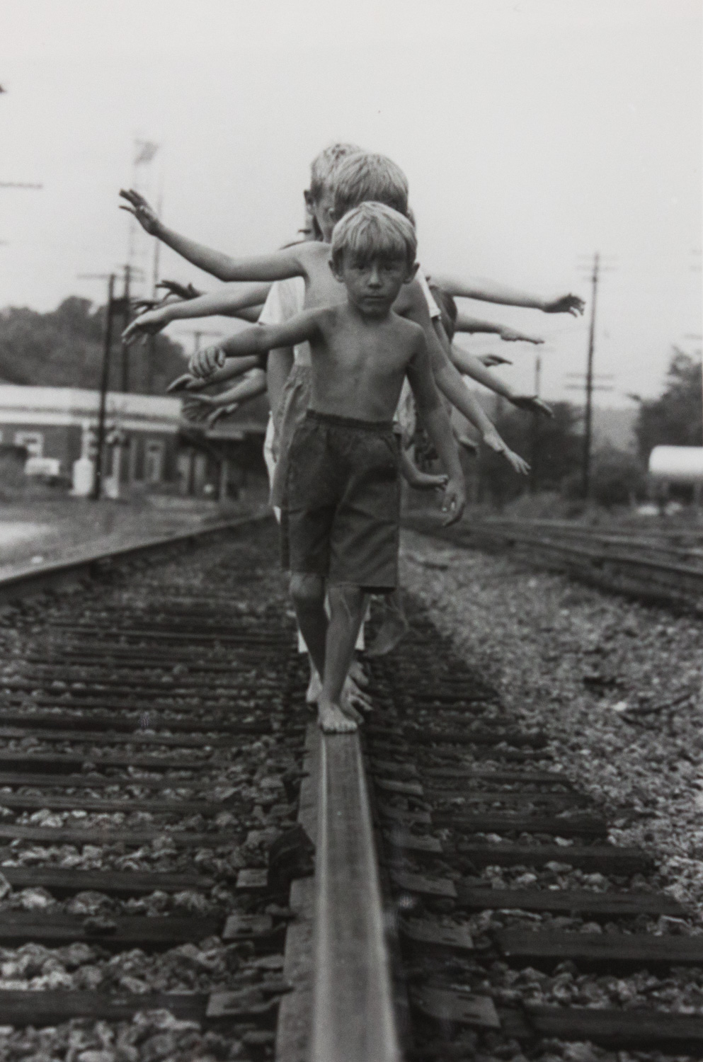 Anniston Train Station 4th St. by Ken Elkins, Silver Gelatin Print