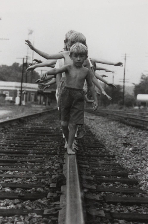 Anniston Train Station 4th St. by Ken Elkins, Silver Gelatin Print