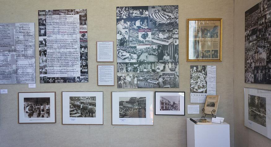 A Sense of Place: Talladega's Past Exhibit Installation