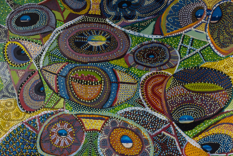 Bowl Full of Cherries by Shelby Horton, Mixed Media