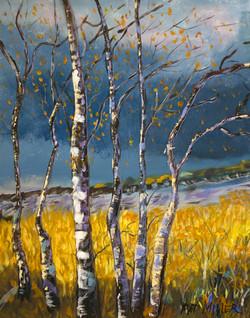 Oil by Pat Miller
