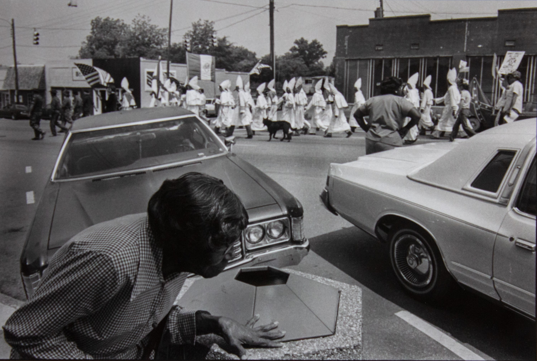 Ku Klux Klan Rally - Talladega, AL by Ken Elkins, Silver Gelatin Print
