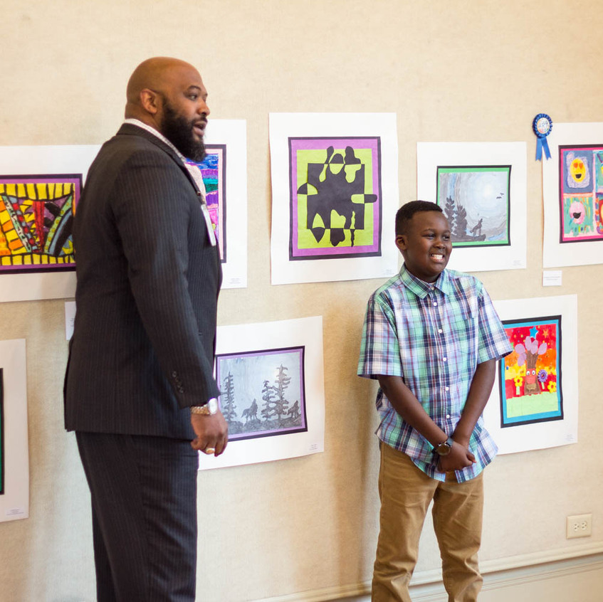 Kids Art Reception 2018