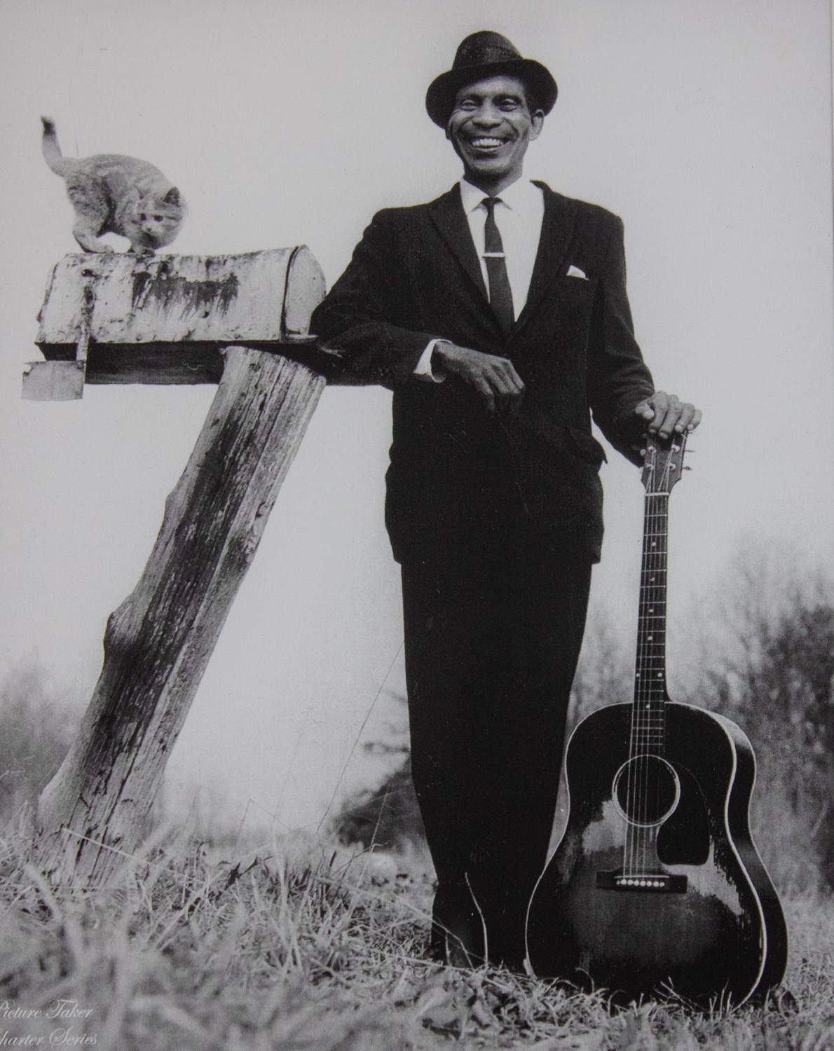 Singing Same - Madison County by Ken Elkins, Silver Gelatin Print