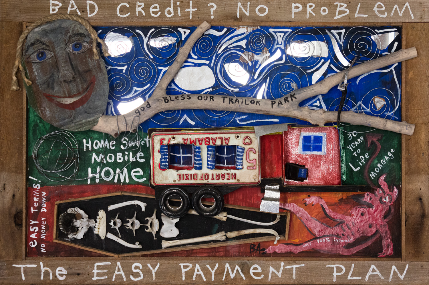 The Easy Payment Plan by Butch Anthony, Assemblage