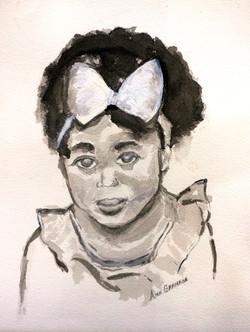 Ink Wash by Ann Graham