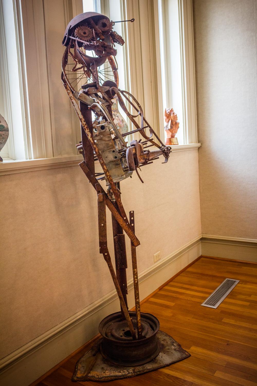 Mr. Joe by Charlie Lucas, Metal Sculpture, Museum Purchase