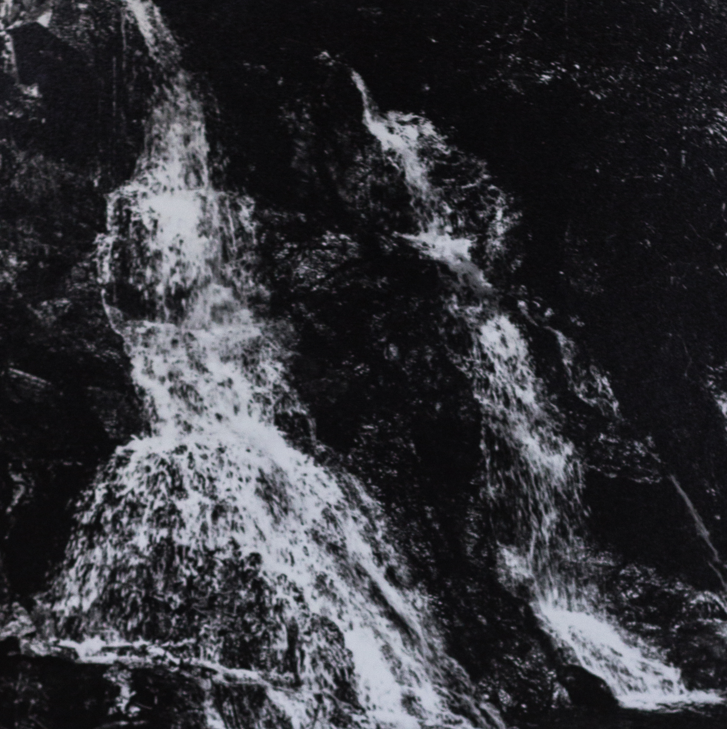Talladega High Falls,Unknown, Silver Gelatin Print