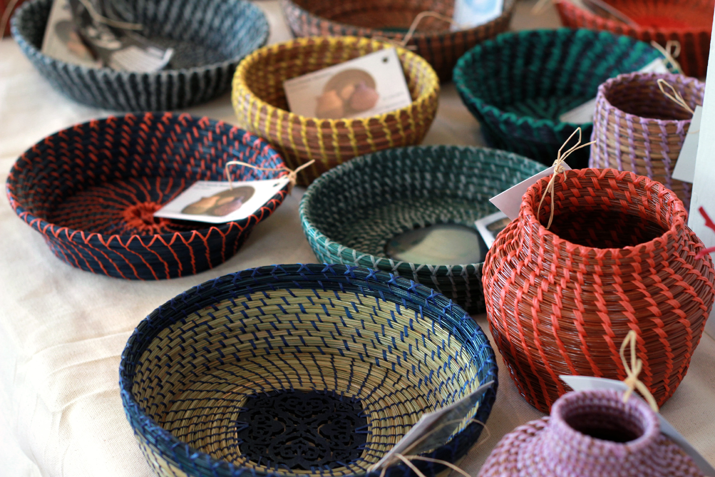 Kathy Nelson Pine Needle Baskets