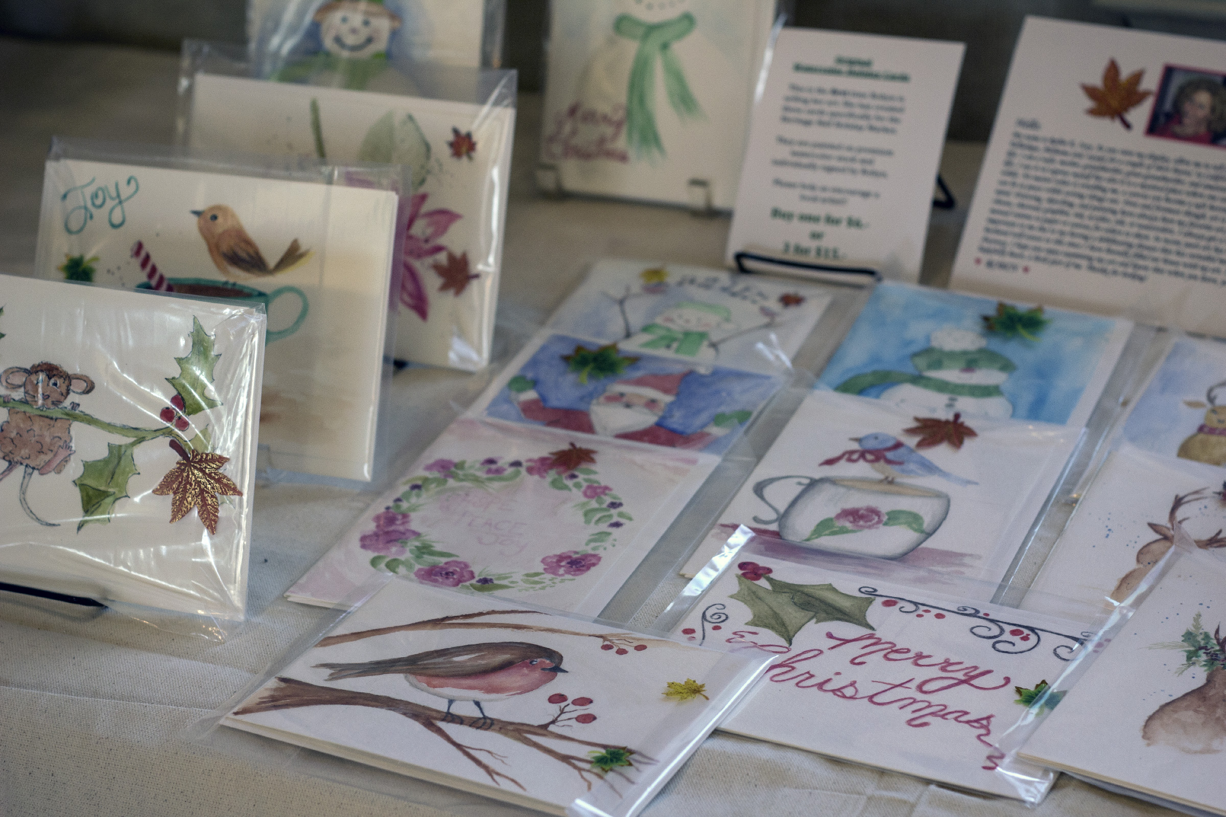 Watercolor Note-cards