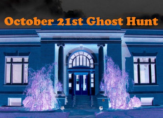 """""""Ghost Hunt"""" & """"Haunted Talladega County"""" Book Signing with Kim Johnston"""