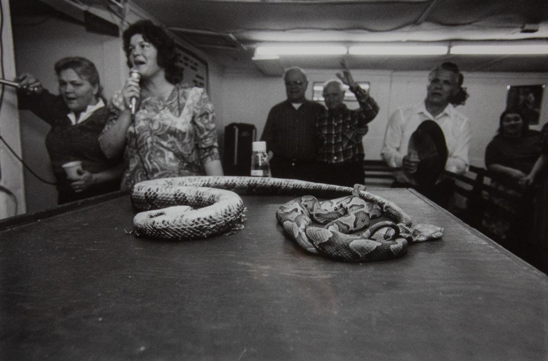 Snake Handlers - Jackson County by Ken Elkins, Silver Gelatin Print