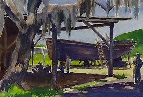 Boat Repair, John Kelly Fitzpatrick, Wat