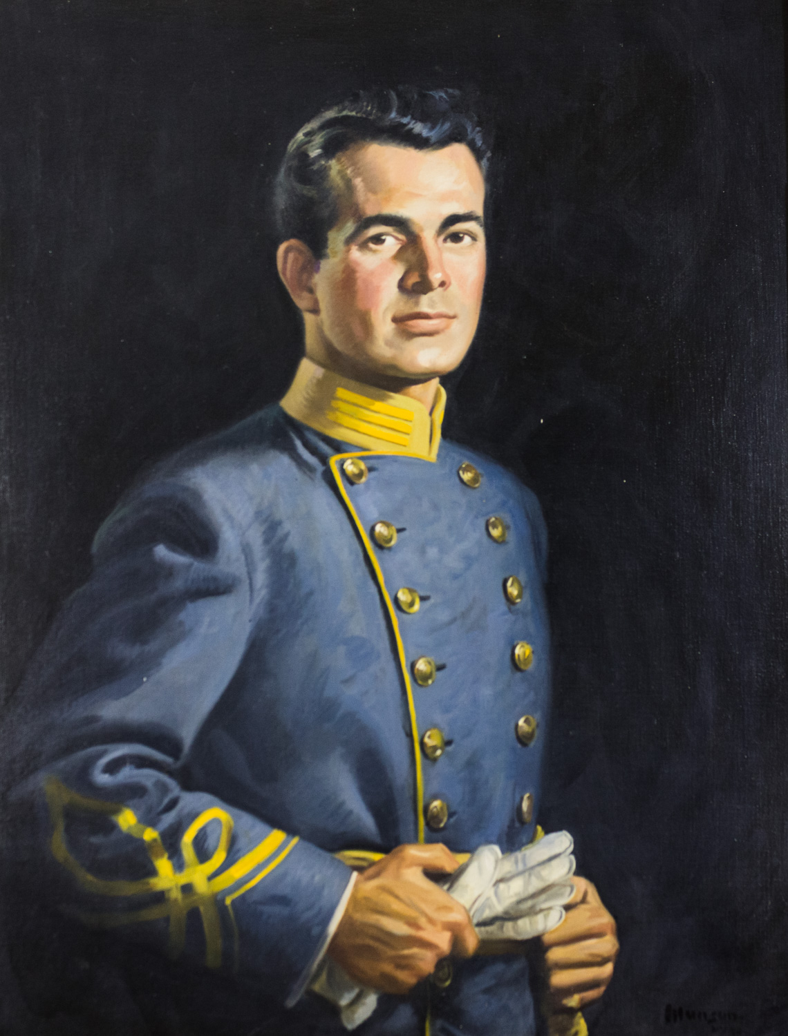 Lyman Warren Clardy, II by Ruth Munson, Oil on Canvas, Donation