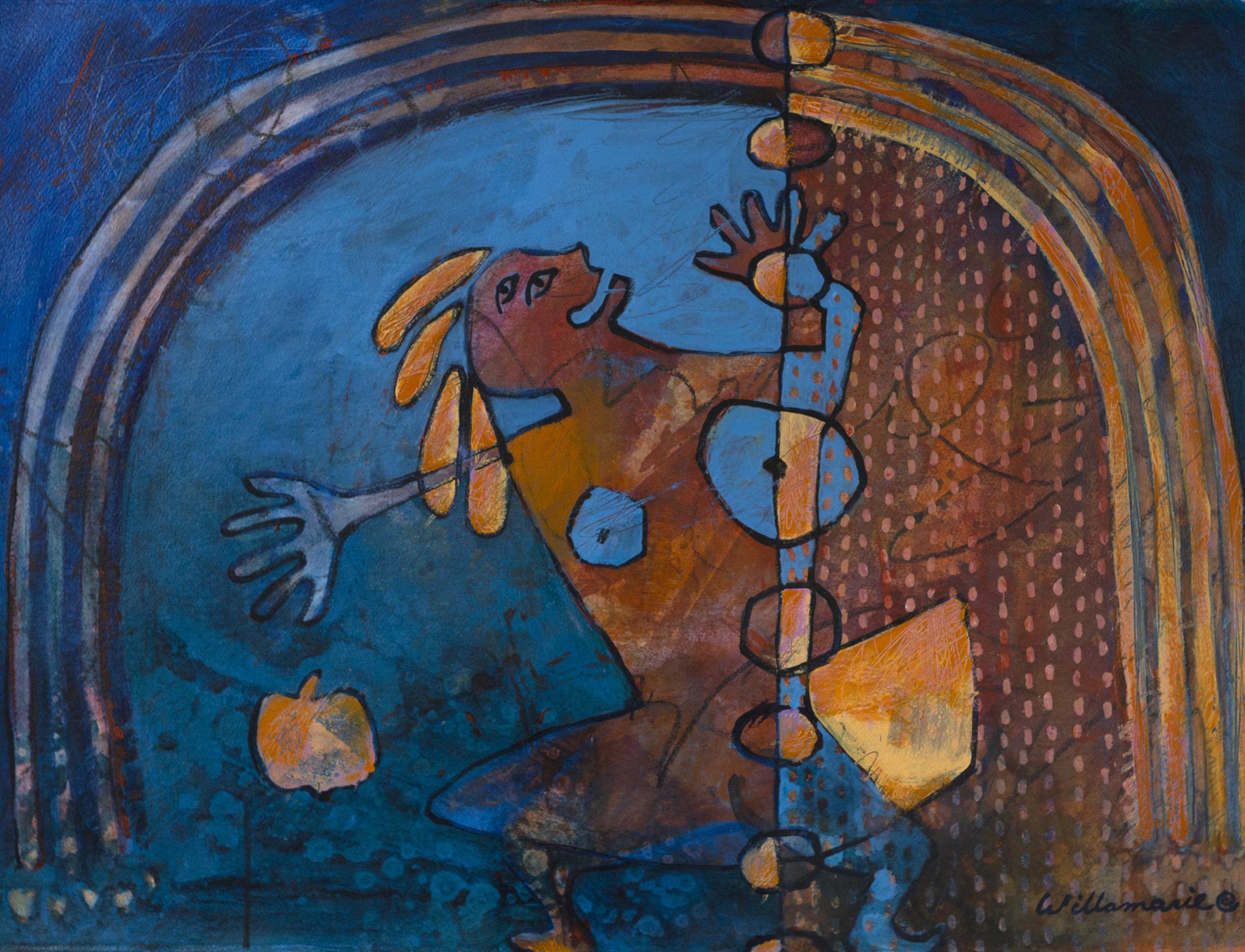 Thanksgiving, Willamarie Hueskamp, Watercolor & Mixed Media, WSA National Exhibition Purchase Award