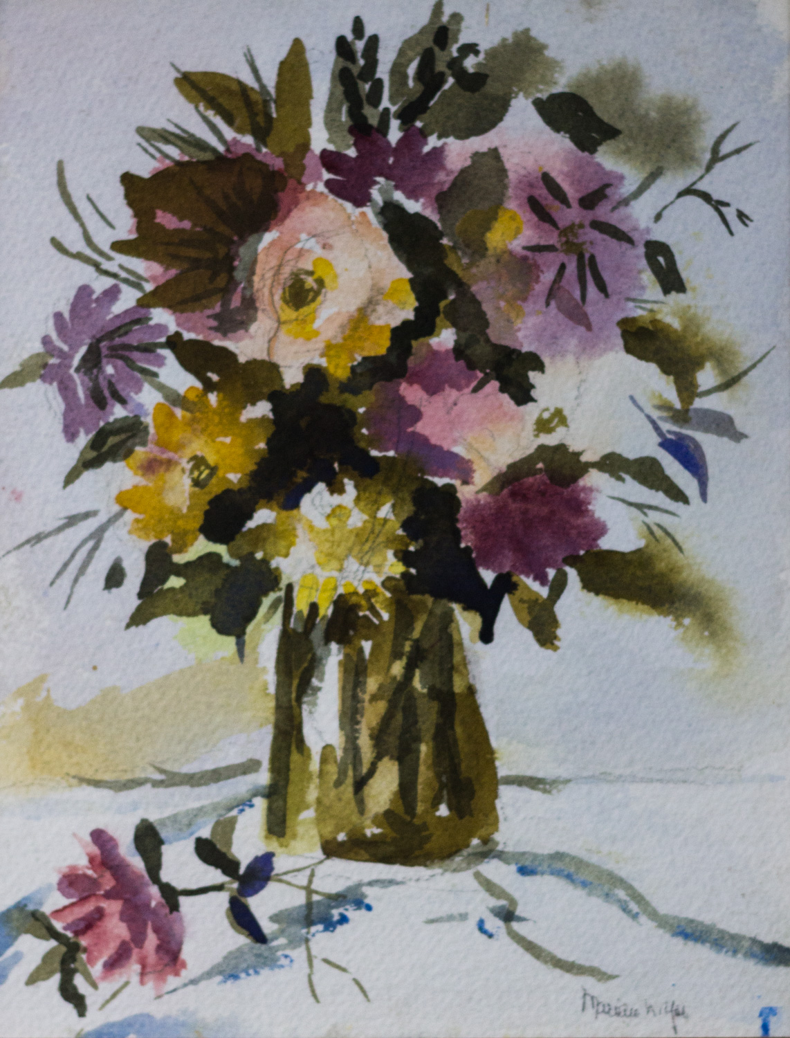 Spring Flowers by Marion Yoe
