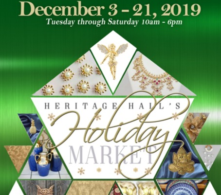 Heritage Hall Holiday Poster 2019