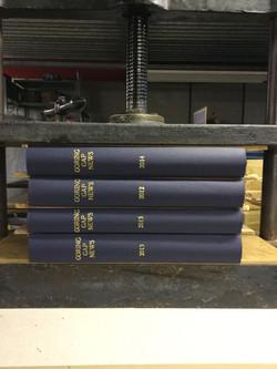 Clothbound journals
