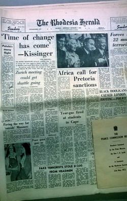 Loose newspapers from 1970's