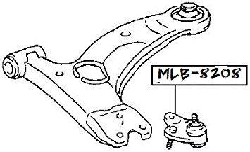 ROTULE Inférieure [Equipementier Origine]MLB-8208OE