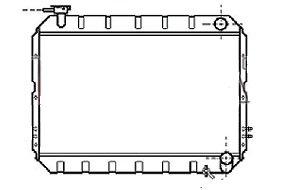 RADIATEUR de RefroidissementTLC61-RF010