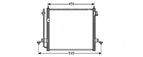 CONDENSEUR de ClimatisationMCA-5M01