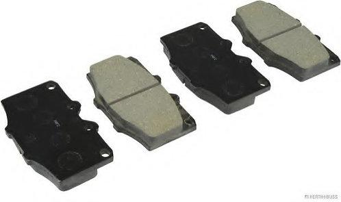 PLAQUETTES de FREIN Avant L: 107,5mm - Hauteur 66mm - Ep: 15mm  MFP-2236
