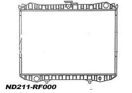 RADIATEUR de RefroidissementBVM - 430mm x 648mm x 32mmND211-RF000