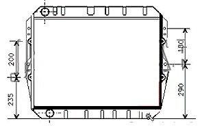 Radiateur modèle sans bouchon TLC70-RF002