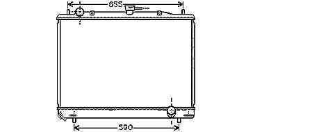 RADIATEUR de Refroidissement3,5i 24v - BVMMPV02-RF006