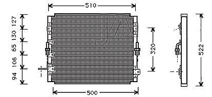 CONDENSEUR de ClimatisationMCA-5T05