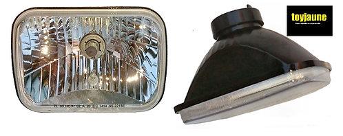 Optiques verres lisses ( la paire ) STA01-63677