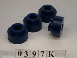 SILENT-BLOCS Avant: De tirant de pont côté chassis - Pour 2 tirantsSPF0397K