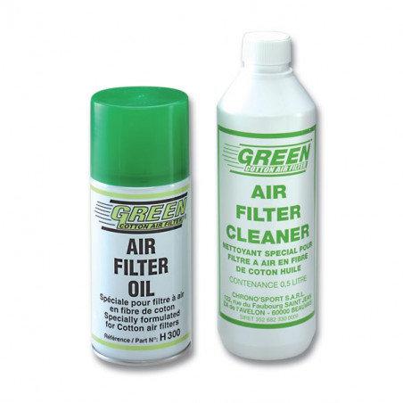 Kit nettoyant + huile pour Filtre à air Green NH01