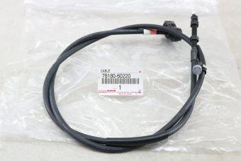Cable d'accelerateur de la  Pédale vers la pompe 78180-60220