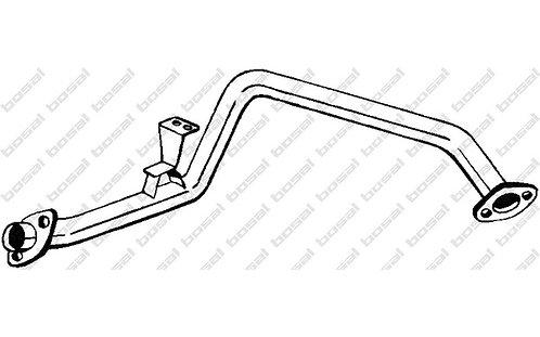 Tube intermédiaire TLC72-ETI01