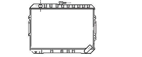 radiateur pajero
