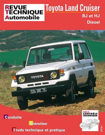 Revue technique BJ et HJ RTA 019.2
