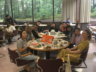 English Table Serves Up New Opportunity for MAIA Students During Lunchtime