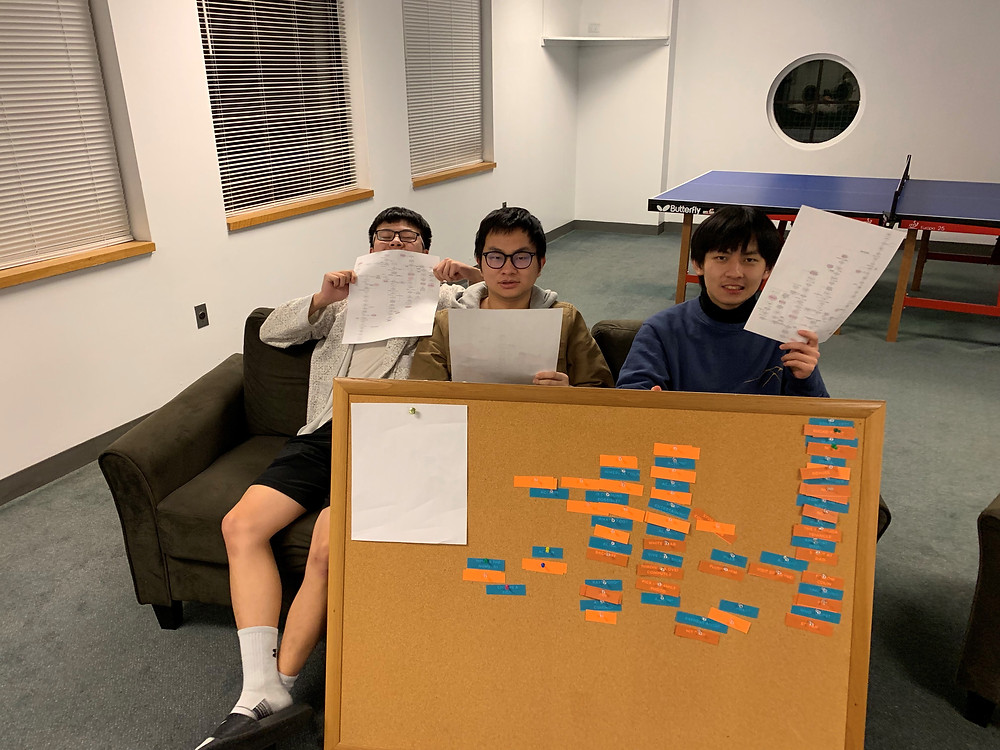 Students Chris Ye and Cabel Xia consider the consequences of their choices for the film