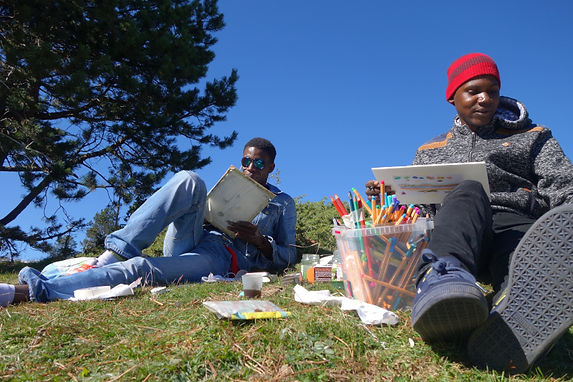 MAIL Younoussa et Djambella au Col de Ja