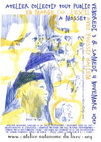 mail EN MARGE exil ateliers tout public
