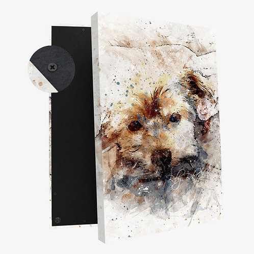 Style A - Artistic Watercolor:   Canvas Print