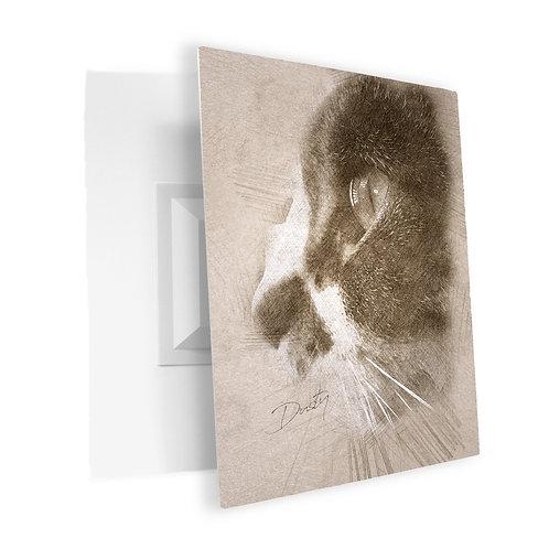 Style B - Artistic Sketch:   Acrylic Print