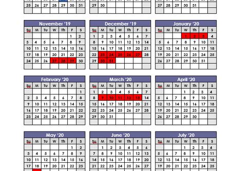 A Personalized School Calendar