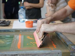 Базовый курс шелкографской печати