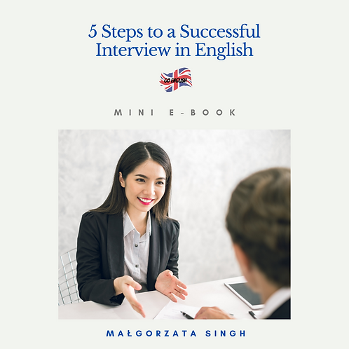 5 Steps to a Successful Interview in English