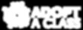 AdoptAClass_Primary Brandmark_White.png