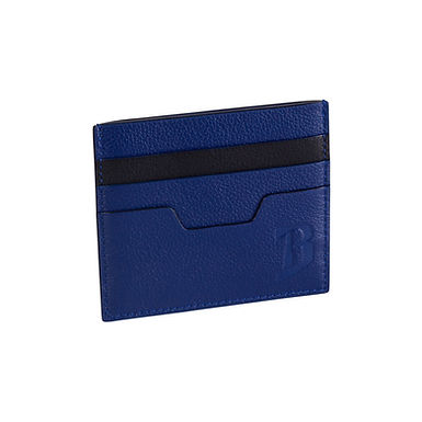 48TH ST. FLAT CARD HOLDER  A.Blue