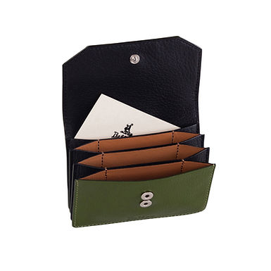 58TH ST. ACCORDION CARD HOLDER  Olive